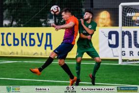Фото матчу | Dominos 0-5 Альтернатива-Сервіт | Міні-Футбол 1 тур