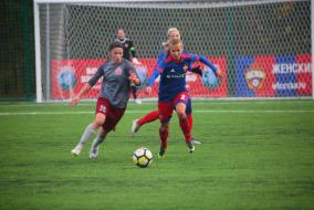 14-й тур Чемпионата России: ЦСКА 2 - 0