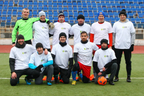 Командные фото Первого Дивизиона ТТЛФ-2019/зима