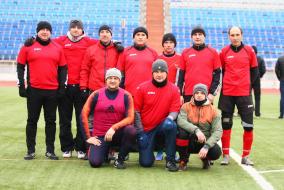 Командные фото Ветеранского Дивизиона ТТЛФ-2019/зима