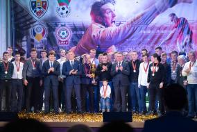 Церемония награждения лучших спортсменов