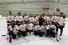 Финальные игры социально – спортивного проекта «Народный хоккей 50+»