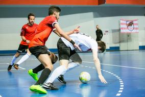 1/8 финала плей-офф. Первый матч. FC Maracana — AFC Red Bisons.