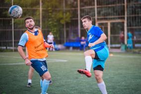 Чемпионат-2019. Матч ГАЗПРОЕКТИНЖИНИРИНГ - КОСМОС-НЕФТЬ-ГАЗ
