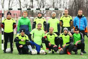 Командные фото Первого Дивизиона ТТЛФ-2020/зима
