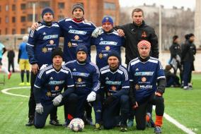 Командные фото Ветеранского Дивизиона ТТЛФ-2020/зима