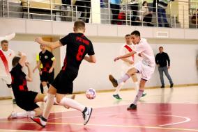 Первая лига 2019/20. Поволжье Спорт - Дружба пила 5:1