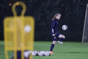 Тренировка женской национальной сборной России в Турции