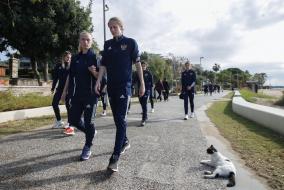 Прогулка женской национальной сборной России в Турции