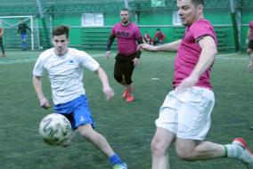 VII Чемпионат Москвы среди строительных организаций по мини-футболу Сезон Весна 4 тур