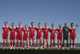 Россия - Сербия. Товарищеский матч женских национальных сборных