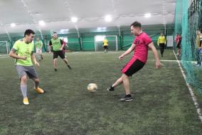 VII Чемпионат Москвы среди строительных организаций по мини-футболу Сезон Весна  6 тур