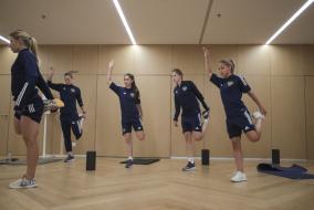 Разминка женской национальной сборной России в Португалии
