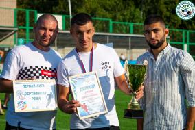 Награждение команд с Чемпионата и Первенства РБ по футболу 6х6 и 7х7 2021
