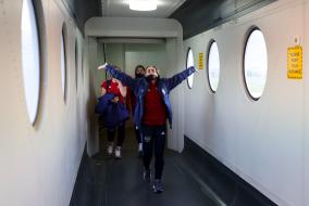 Перелет национальной сборной России в Сараево