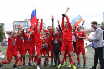 Россия - Чемпион мира по футболу среди болельщиков!