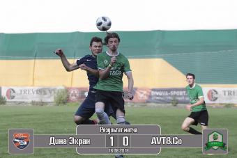 AVT&Co - Дина-Экран 0:1
