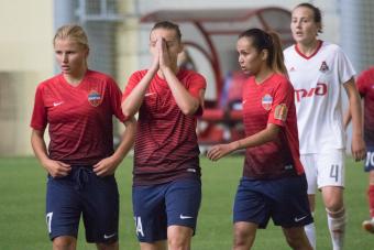Марина Фёдорова и Аида Гайстенова пожелали друг другу удачи