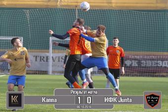 Джунта - Каппа 0:1