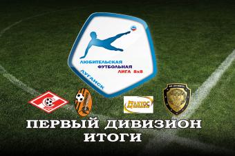ЛФЛ 8х8 итоги, Первый дивизион