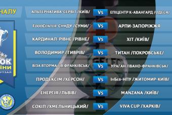 У 1/8 фіналу Кубку України зіграємо з одеським Епіцентр К-Авангард
