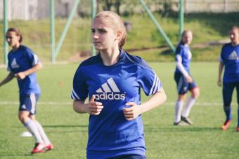 Виктория Дубова приступила к тренировкам в общей группе