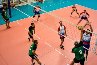 Ещё один месяц корпоративного волейбола: с 24 марта по 28 апреля!