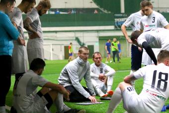 Роман Левендеев: «У нас собраны хорошие футболисты, но командные действия находятся в зачатке»