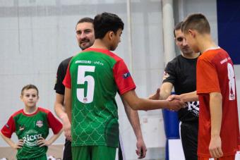 Сегодня стартовал VI тур Школьной Футбольной Лиги г.Казань.