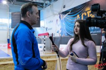 На играх I дивизиона VII тура присутствовала съемочная группа Univer TV.