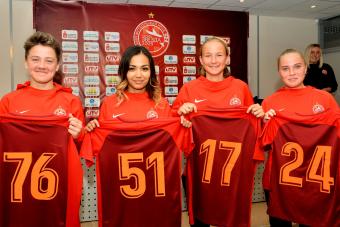 Новички в команде «Звезда-2005»