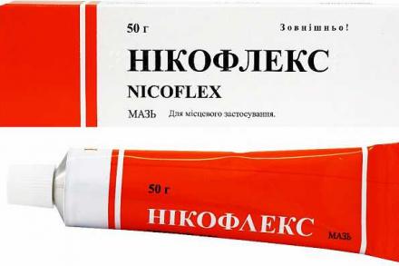 Никофлекс мазь №1 для спорта и активного отдыха