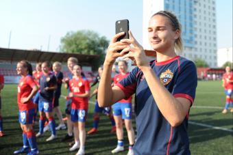ЦСКА объявил о завершении карьеры Дарьи Чугай