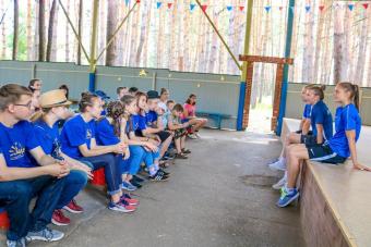«Рязань-ВДВ»-М провела мастер-класс для участников соревнований «Детский спорт».