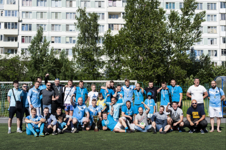 Завершился XII-Летний Кубок Фанатов Зенита 2019 им.Геннадия Поповича