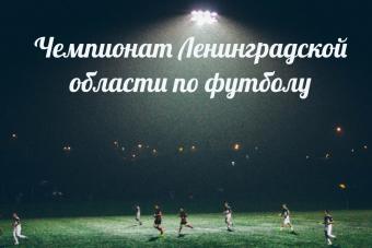 Результаты 7-го тура Чемпионата Ленинградской области по футболу