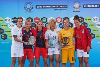 Три россиянки получили индивидуальные награды Кубка Европы