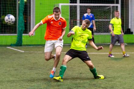 Обзор первого тура «V Чемпионата среди строительных организаций по мини-футболу»