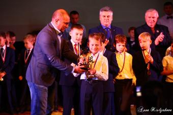 Церемония награждения победителей и призеров Первенства среди юношей. Сезон 2019