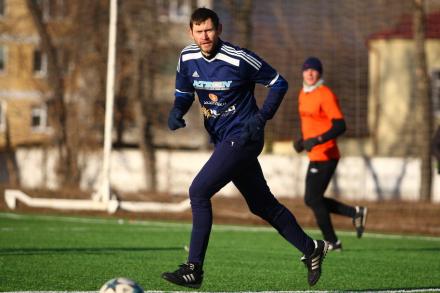 Голкипер ФК «Рязань» Сергей Правкин дебютировал на ТТЛФ в качестве полевого игрока