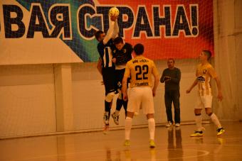 «ПСК» - царь горы: в мини-футбольной Суперлиге новый лидер