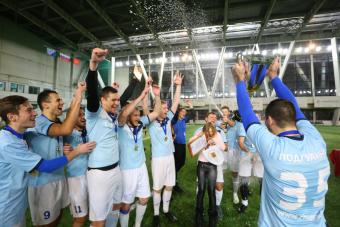«Цикорич» — победитель Кубка Санкт-Петербурга!
