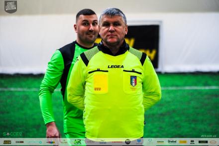 Перший тур зимової першості Parimatch Street Football Challenge Kiev!