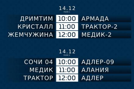 Заключительный групповой этап турнира памяти Владимира Гончара