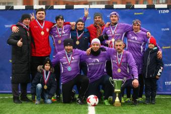 «Автоимпорт» - чемпион Ветеранского Дивизиона!