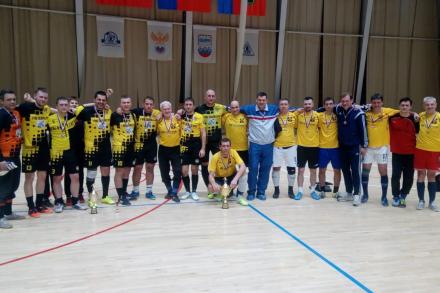 Ветераны Кузбасса - победители Осеннего Кубка Федерации