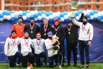 «Автоимпорт» - чемпион зимнего турнира!