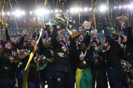 ЦСКА: дебютные чемпионство и путевка в Лигу чемпионов