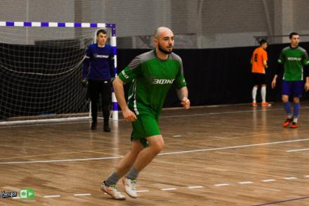 9 января возобновится регулярный чемпионат по футзалу.