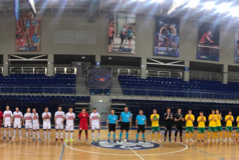 В товарищеском матче наша сборная победила литовцев со счетом 4:0